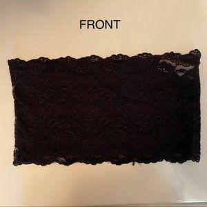 Black Lace Bandeau Bra